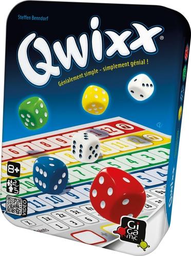 Jeu Qwixx - Nouveau format