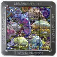 GIGAMIC - Magna Puzzle 3D - Caméléons