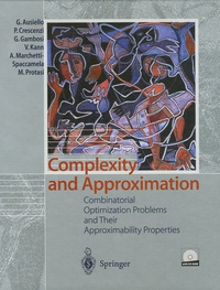 Corridashivernales.be Complexity and Approximation - Combinatorial Optimization Problems and Their Approximability Properties Image