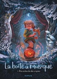 Gijé et  Carbone - La boîte à musique Tome 3 : A la recherche des origines.
