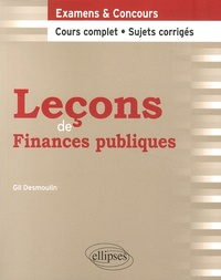 Gil Desmoulin - Leçons de finances publiques.
