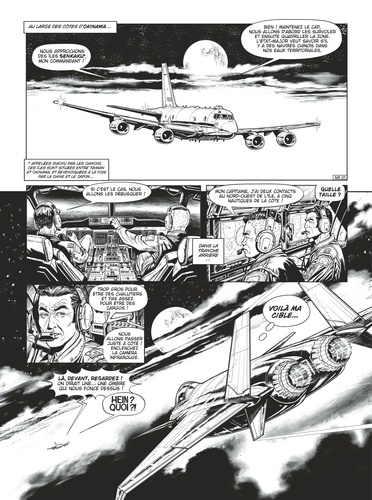 Buck Danny  La nuit du Spectre. Avec une illustration dédicacée -  -  Edition limitée