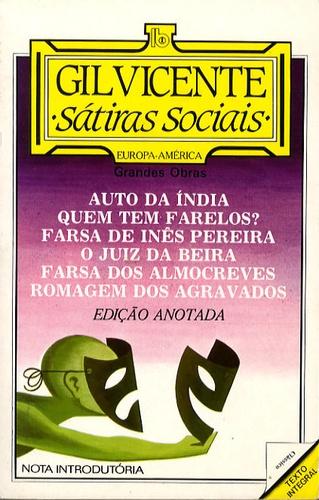Gil Vicente - Satiras sociais.