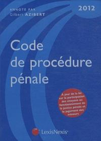 Deedr.fr Code de procédure pénale 2012 Image