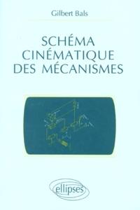 Gilbert Bals - Schéma cinématique des mécanismes.