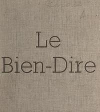 Gilbert Corot - Le bien-dire.