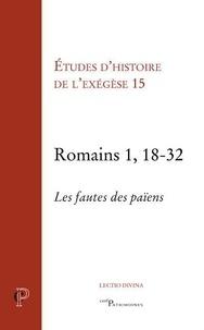 Gilbert Dahan - Romains 1, 18-32.