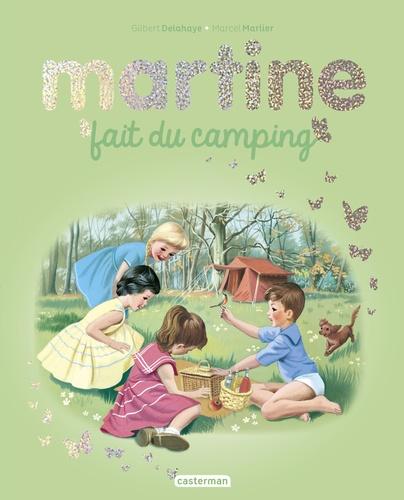 Martine  Martine fait du camping