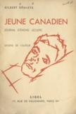 Gilbert Désilets - Jeune Canadien - Journal d'Émond Leclerc.