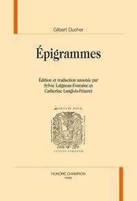 Gilbert Ducher - Epigrammes.