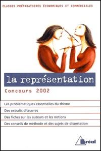 Rhonealpesinfo.fr La représentation. - Concours 2002 classes préparatoires économiques et commerciales Image
