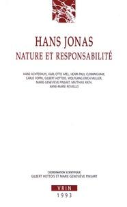 Gilbert Hottois et Marie-Geneviève Pinsart - Hans Jonas - Nature et responsabilité.