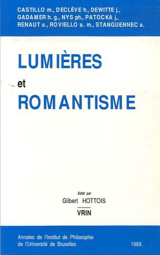 Gilbert Hottois - Lumières et romantisme.