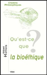 Gilbert Hottois - Qu'est-ce que la bioéthique?.