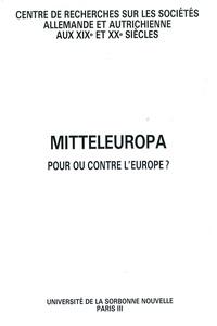 Gilbert Krebs - Mitteleuropa - Pour ou contre l'Europe ?.