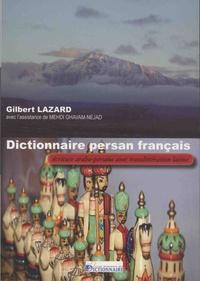 Gilbert Lazard - Dictionnaire persan français.