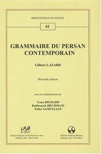 Gilbert Lazard - Grammaire du persan contemporain.