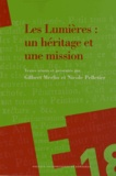 Gilbert Merlio et Nicole Pelletier - Les Lumières : un héritage et une mission - Hommage Jean Mondot.