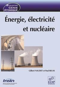 Deedr.fr Energie, électricité et nucléaire Image