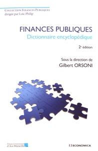 Gilbert Orsoni - Finances publiques - Dictionnaire encyclopédique.