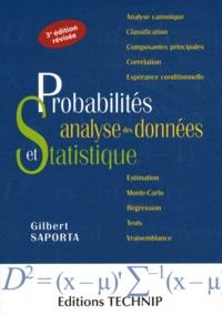 Gilbert Saporta - Probabilités, analyse des données et statistique.