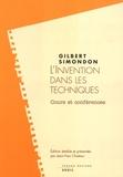 Gilbert Simondon - L'invention dans les techniques - Cours et conférences.