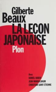 Gilberte Beaux - La leçon japonaise.