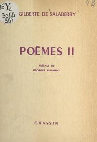 Gilberte de Salaberry et Georges Pillement - Poèmes (2).