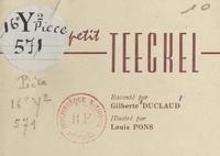 Gilberte Duclaud et Louis Pons - Pauvre petit Teeckel.