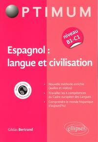 Gildas Bertrand - Espagnol : langue et civilisation.
