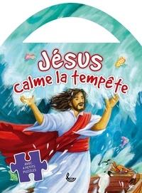 Gill Guile - Jésus calme la tempête - Avec 4 petits puzzles.