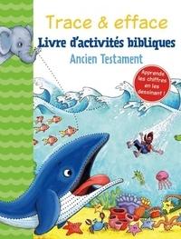 Gill Guile - Livre d'activités bibliques - Ancien testaments, avec un feutre noir effaçable.
