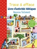 Gill Guile - Livre d'activités bibliques - Nouveau testament, avec 1 feutre noir effaçable.