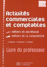 Museedechatilloncoligny.fr Activités commerciales et comptables 2e professionnelle BEP secrétariat/comptabilité - Livre du professeur Image
