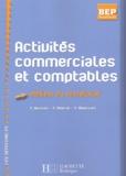 Gilles Agaësse et A Monnet - Activités commerciales et comptables BEP métiers du secrétariat.