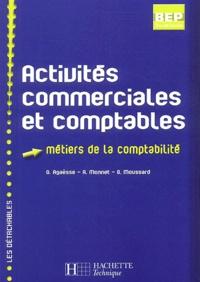 Gilles Agaësse et A Monnet - Activités commerciales et comptables Tle BEP comptabilité.