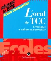 Gilles Alabarbe - L'oral de TCC - Techniques et culture commerciales.