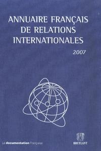 Gilles Andréani - Annuaire français de relations internationales - Volume 8.