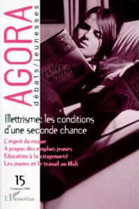 Checkpointfrance.fr AGORA N° 15 1ER TRIMESTRE 1999 : ILLETTRISME, LES CONDITIONS D'UNE SECONDE CHANCE Image