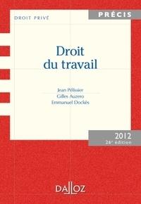 Gilles Auzero et Emmanuel Dockès - Droit du travail 2012.