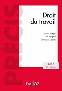 Gilles Auzero et Emmanuel Dockès - Droit du travail 2020 - 33e éd. - Édition 2020.