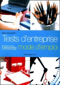 Deedr.fr Tests d'entreprise. Mode d'emploi Image