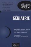 Gilles Berrut et Marc Paccalin - Gériatrie.
