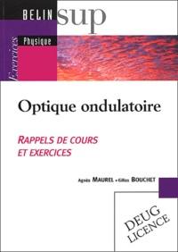 Gilles Bouchet et Agnès Maurel - .
