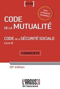 Code de la mutualité - Code de la sécurité sociale Livre 9 - Commenté.pdf