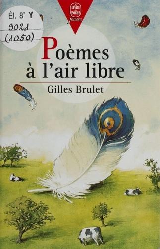 Poèmes à l'air libre...