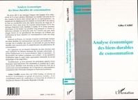 Gilles Caire - Analyse économique des biens durables de consommation.