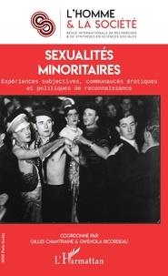 Gilles Chantraine et Gwénola Ricordeau - L'Homme et la Société N° 208, 2018/3 : Sexualités minoritaires - Expériences subjectives, communautés érotiques et politiques de reconnaissance.