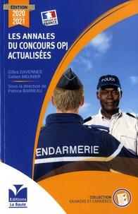 Gilles Davennes et Gatien Meunier - Les annales du concours OPJ actualisées.