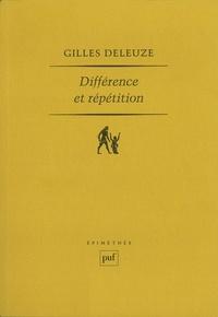 Gilles Deleuze - Différence et répétition.